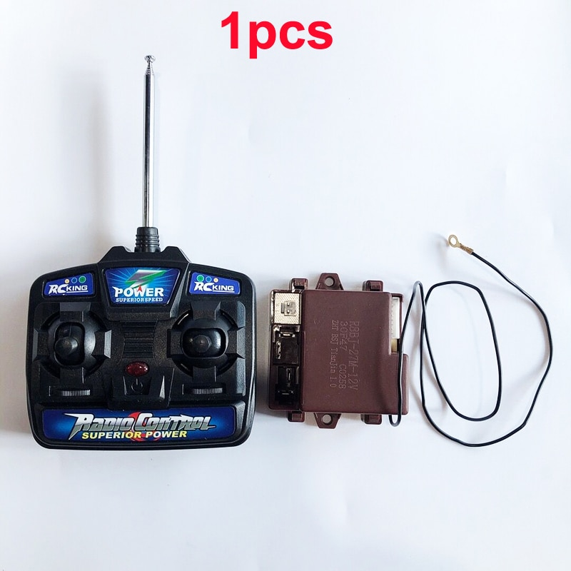 1PC Children Electric Car 27MHZ Remote Control R8BJ-27M-12V R8BJ-27M-6V Transmitter Receiver Kids To