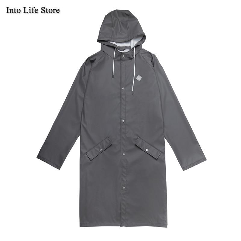 Women's Raincoat Waterproof Black Men's Long Rain Poncho Men Rain Coat Jacket Trench Coat Girls Tourism Camping Gift Ideas enlarge