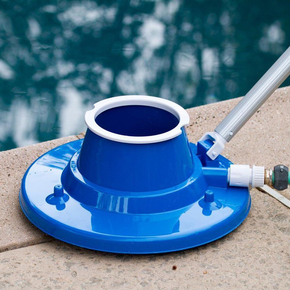 Cabezal de vacío Flexible para piscina con cepillo limpiador para estanque, Spa, aguas residuales, accesorios para piscina, herramienta de limpieza 35P