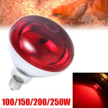 Lampe chauffante pour les animaux domestiques 100/150/200 W   E27 à 250 °, lampe chauffante pour serpent amphibien, volaille, lampe chauffante Reptile à infrarouge