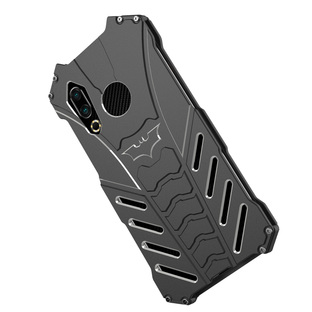 R-just Case For Meizu 16s 16x Armor Heavy Metal Aluminum Alloy Shockproof Kickstand Cover Case For Meizu 15 Plus 16th Plus M15
