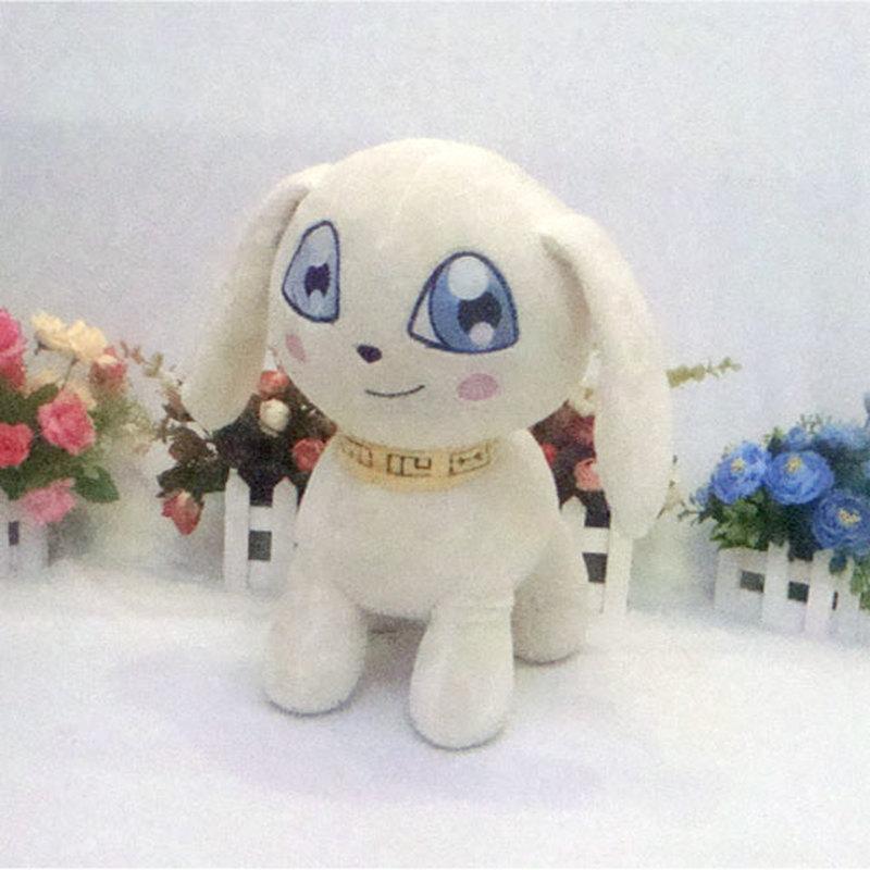 Anime Plotmon Plush Toys Digimon Digital Monsters Yagami Hikari Pet Figure Doll Cosplay 35cm Filling Pillow for Gift