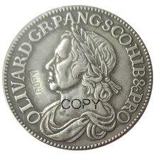 UK England 1658 Great Britain 1/2 British Crown Copy Coins