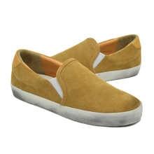 Мужские дизайнерские кроссовки известного бренда CANGMA, повседневная обувь из коровьей замши, желтые лоферы, мужские кроссовки 2021