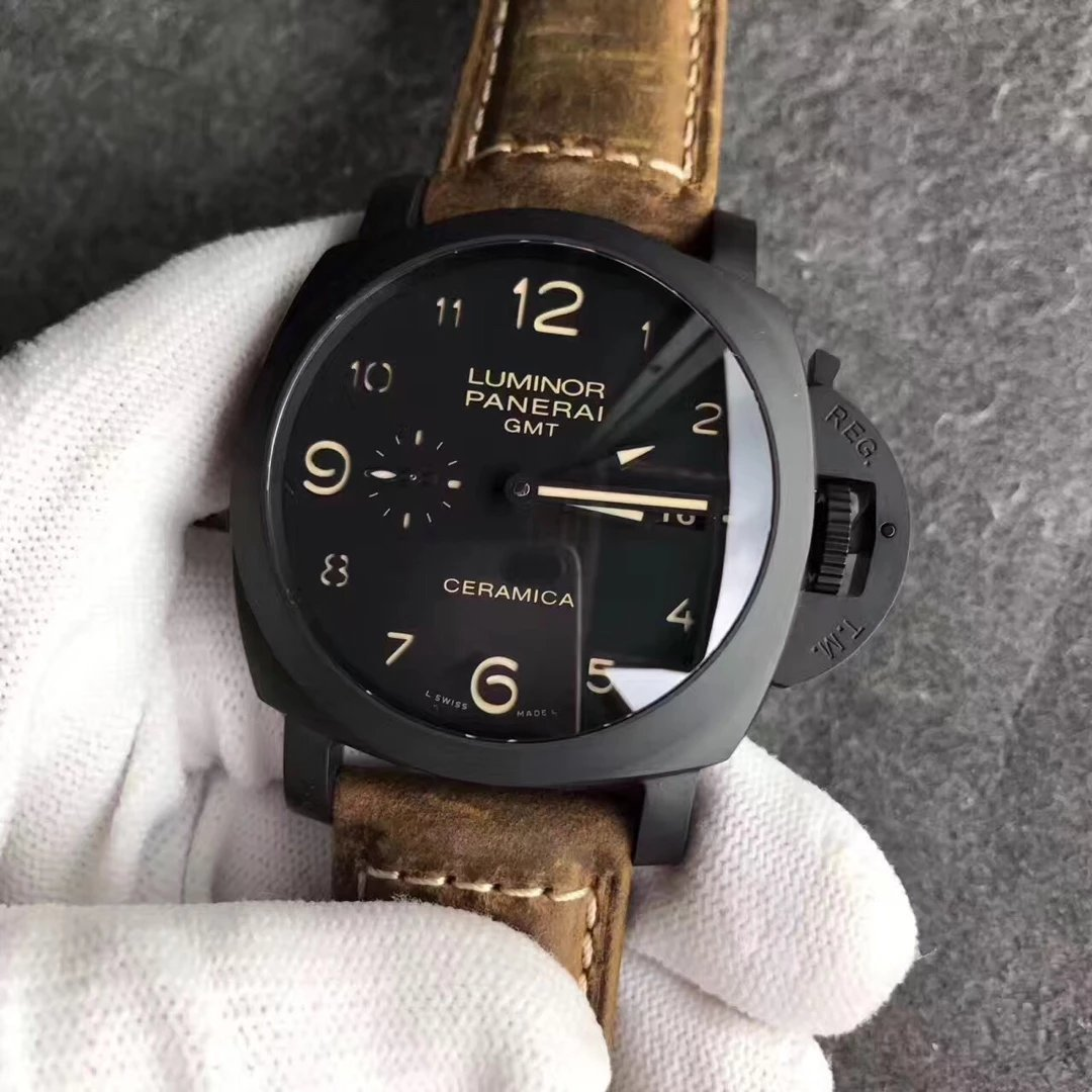Panerai- Men's watch PAM luxury brand Watches 9100 Automatic Mechanical Wristwatches high quality 1: