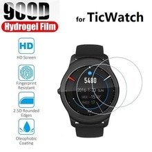 3pcs Hydrogel Protective Film for Ticwatch 3 Pro GPS C2 Plus Ticwatch E E2 S S2 (Not Glass) Screen Protector Protection Foil