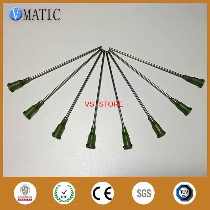 Бесплатная доставка качество 10 шт 14 г 10 см длина дозирующие наконечники иглы 100 мм
