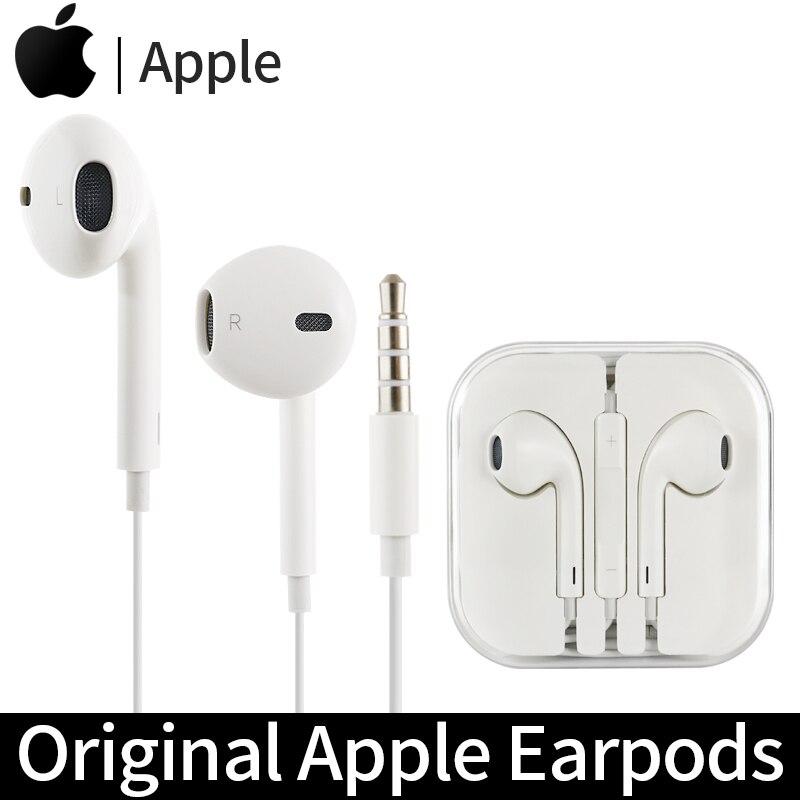 Apple Earpods Original Earphone 3.5mm Plug In-Ear Earphones Sport Earbuds Deep Bass Headset for iPho