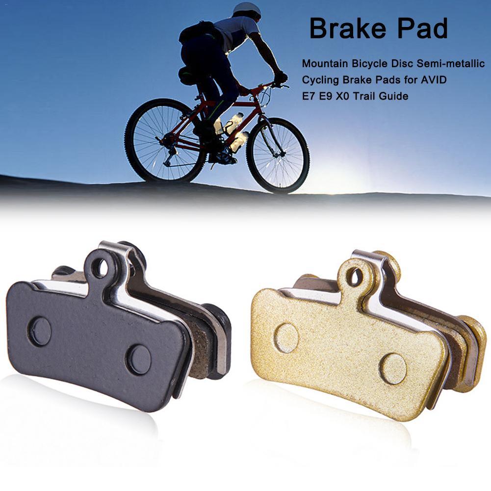 Almohadillas para frenos de bicicleta, semimetálicas, de cuatro pistones para AVID E7 E9 X0 Trail Guide, MTB