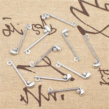 Supplies For Jewelry Accessori  Golf Clubs Charms Antique Silver Color 30pcs 8x32mm