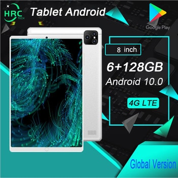 P80 Tablet 8 inch 6GB+128GB Tablets Android Tablet PC 5300mAh 10 Core tablete GPS WIFI 4G online class Phone Call tablette pad