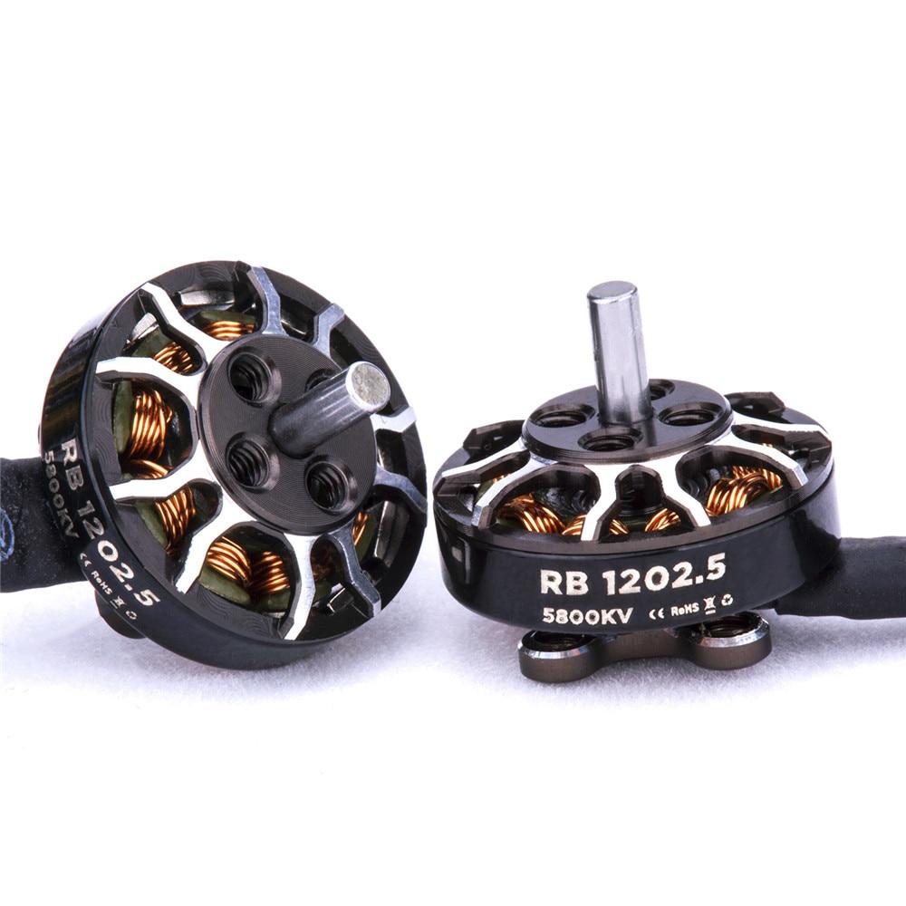 Flywoo Rolo Series Motor RB 1202,5 5800KV 2-4S 2mm, Motor sin escobillas para mondadientes FPV Racing RC Drone