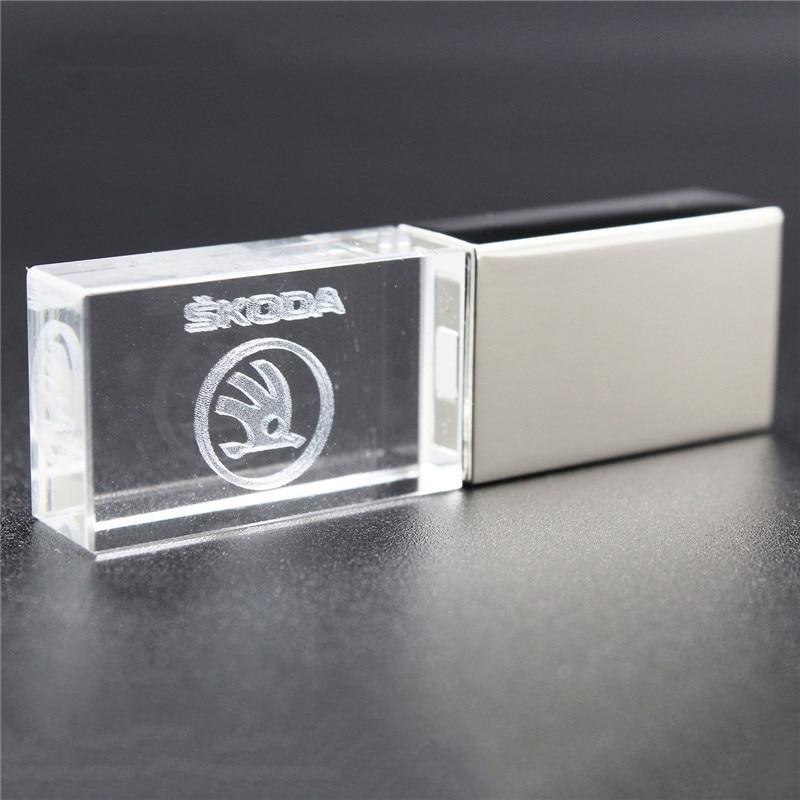 USB флеш-накопитель USB 2,0 O S koda, USB флеш-накопитель, 4 ГБ, 8 ГБ, 16 ГБ, 32 ГБ