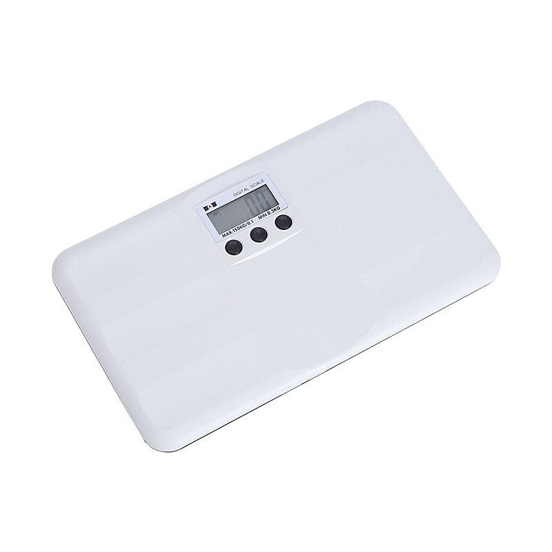 Báscula electrónica de Abs para bebés recién nacidos, medidor de peso para niños pequeños, 150kg/0,1, pantalla Lcd