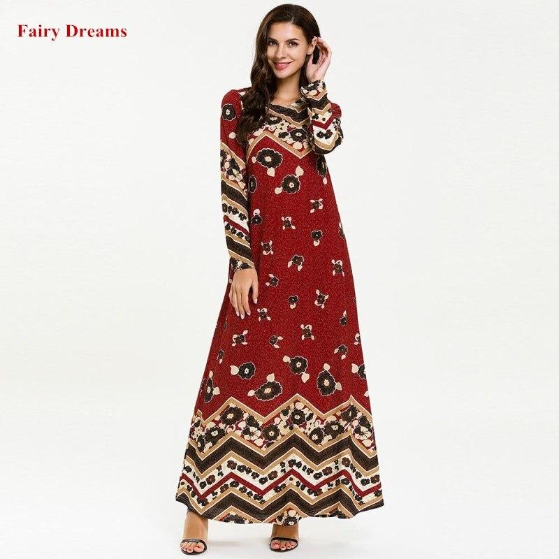 Women Abaya Turkish Kimono Turkey Dubai Ramadan Muslim Dress Kaftan  Islamic Clothing Plus Size 4XL Bangladesh Print Red Robe