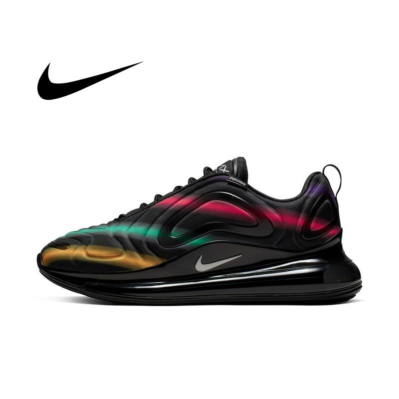 Original auténtico Nike Air Max 720 de los hombres zapatos transpirables y cómodos deportes zapatos de tendencia de nuevo 2019 en AO2924-700