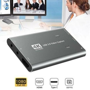 4K 1080P HDMI к USB 3,0 карта видеозахвата для прямой трансляции
