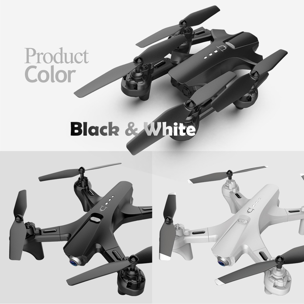 RC Quadrocopter with 4K Dual Camera Drone One-Key Return Four-Aixes Reomote Control HD FPV Quadcopter Toy for Boy Friend enlarge