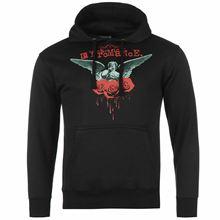 My quimic Romance Bleeding Roses Pullover Hoody para hombre negro Hoodie sudadera hombres manga larga gimnasio jogger invierno verano abrigo