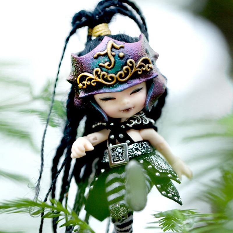 Free Shipping Fairyland Realpuki AKIa1/13 Doll BJD Pink Smile Elves Toys for Children Gift for Boys Girls Birthday