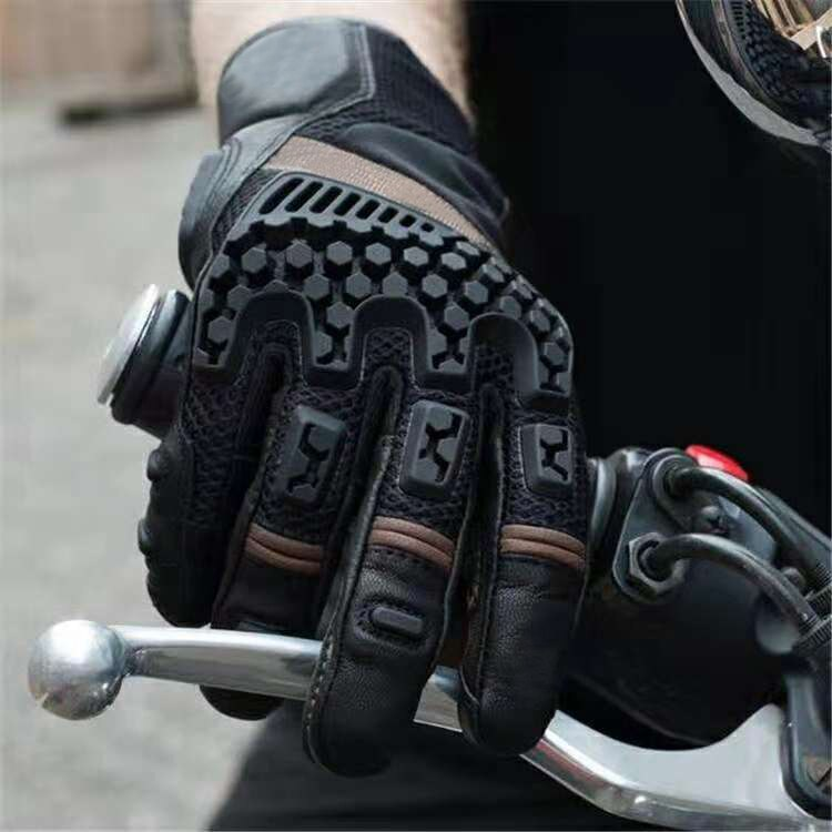 Motorcycle Sands Trails Adventure Touring Vented Gloves Motorbike Gants Motocross Moto Racing Glove
