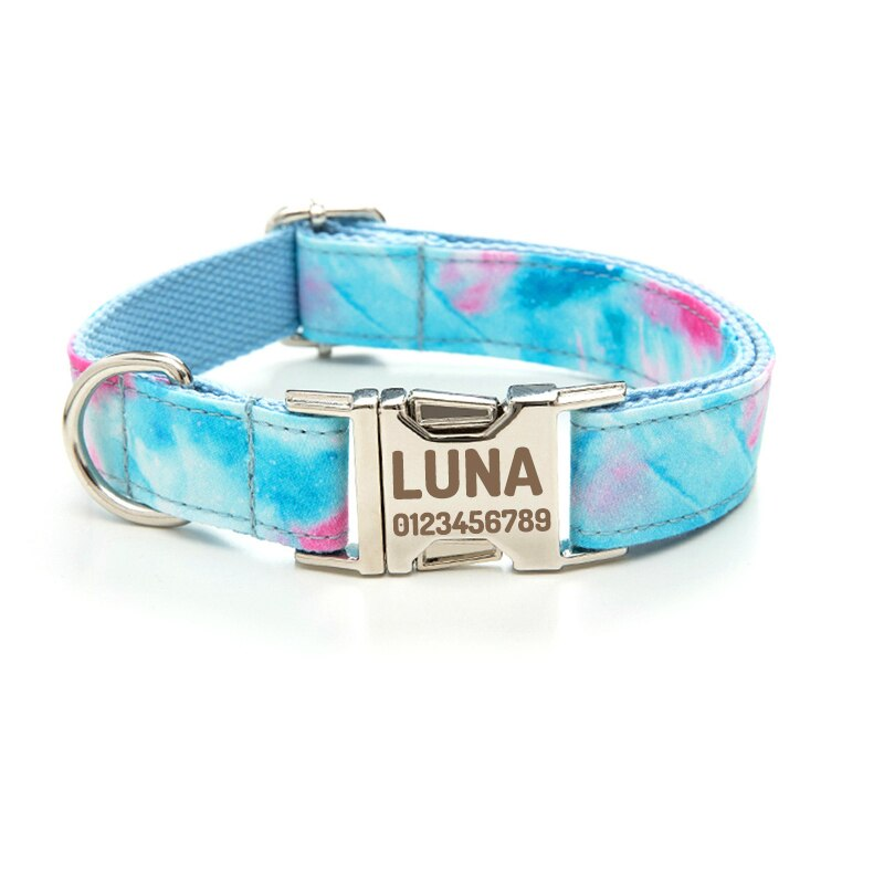 Collar personalizado para perro, Correa con lazo, productos suministros para mascotas, accesorios...