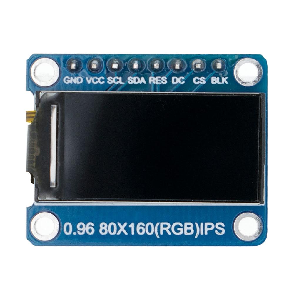 IPS 0,96 дюймовый TFT 7P SPI HD 65K полноцветный ЖК-модуль ST7735 Drive IC 80*160
