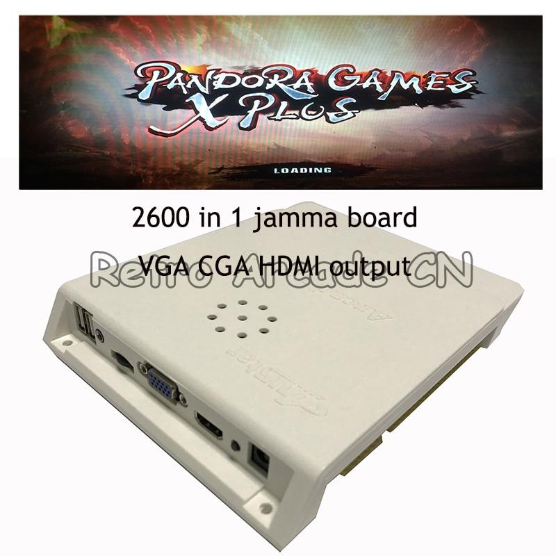 Caja de Pandora juegos X, enchufe Jamma 2600 en 1, 10 Uds.,...