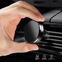 Магнитный держатель для телефона Lovebay, подставка для iphone, Автомобильный GPS, крепление на вентиляционное отверстие, Магнитная подставка, унив...