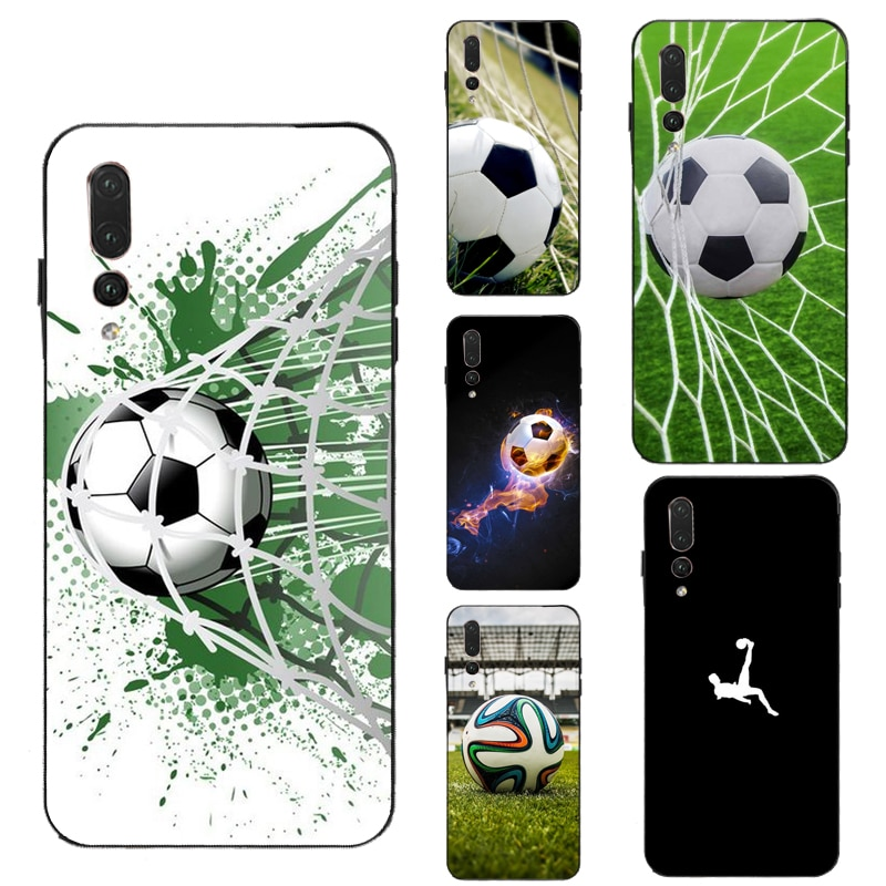 Futebol Caso para Huawei Honra 7A Pro 8X 10i 9 10 20 Lite 7C 8A 9X 8C 8S Y6 Y9 5 Y7 2019 Nova T