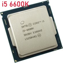 Intel Core i5 6600K i5-6600k 3,5 GHz LGA1151 scrattered piezas 14nm 95 w quad core procesador cpu de escritorio