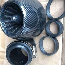 TiOODRE мотоциклетный воздушный фильтр черный воздушный фильтр мотоциклетный очиститель воздуха 28 мм 35 мм 42 мм 48 мм универсальный металлическ...
