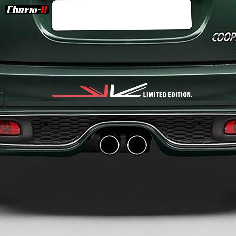 Auto Styling Bumber Aufkleber Union Jack Grafik Fenster Körper Tür Seite Aufkleber für Mini Cooper F55 F56 R56 F60 R60 f54 R55 R50 R52