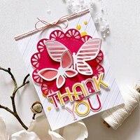 dies butterfly combination cut die metal cutting dies diy craft scrapbook embossed paper card album craft template stencil die