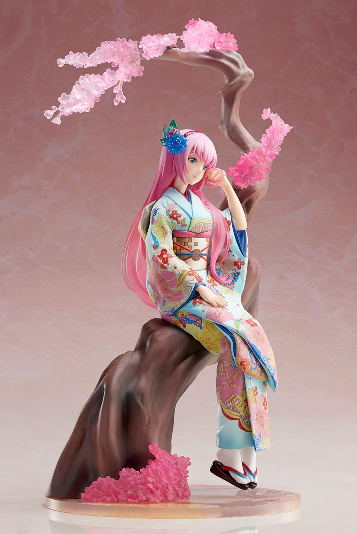 25cm Hatsune Miku Megurine Luka muñeco de Anime figura juguete de modelo de colección figura de acción para regalo de amigos