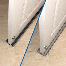 Flexible inferior puerta tira de sellado de guardia sellador tapón puerta tira de sellado y aislamiento acústico de tapón de sello de puerta