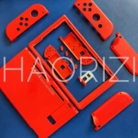 red ns switch replacement housing shell cover for nintend switch ns nx joy con joycon controller shell case front middle frame