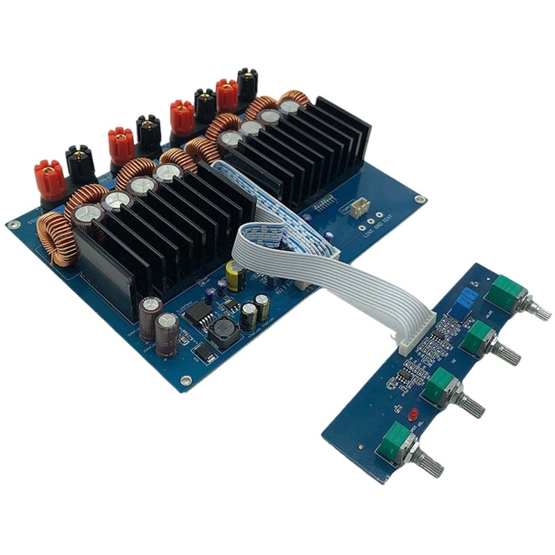 Tas5630 2.1 High Power Digital Power Amplifier Board Hifi Class D Opa1632 600W + 2x300W DC 48V