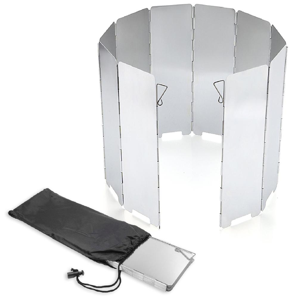Protector de pantalla plegable para parabrisas al aire libre de aleación de aluminio