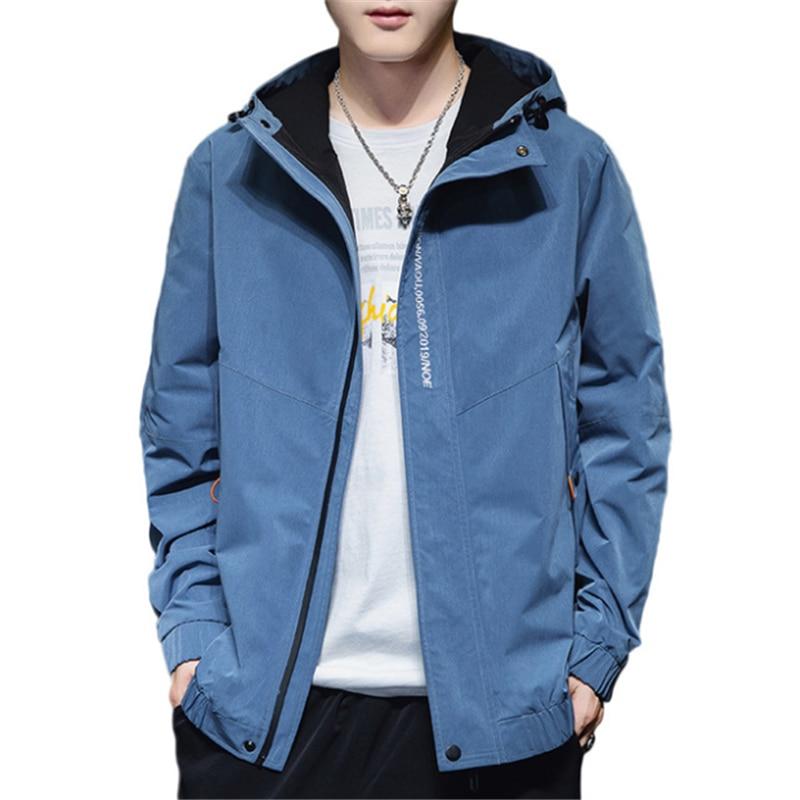 2020 primavera otoño hombres tendencia coreana Casual ropa de moda con capucha...