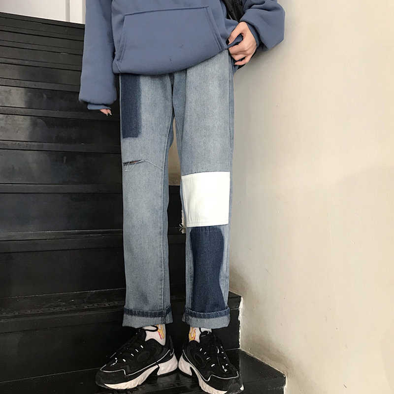 Internet Celebrity Jeans Women's Spring and Summer High Waist Loose Bf2021 New Korean Style Student