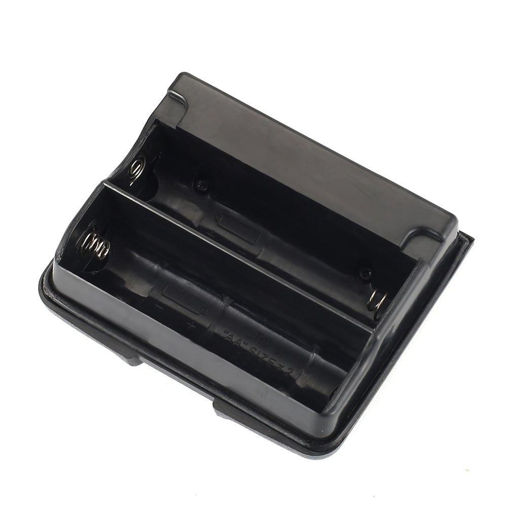 Para Yaesu, paquete de batería, Walkie Talkie Vx-5r Vx-6r Vx-7r, caja de batería de Fba-23, soporte para 2 baterías alcalinas Aa, estuche para bolsas