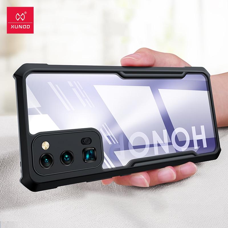 Xundd, funda de teléfono para Honor 30 Pro 30 Pro Plus Lite 30S, funda transparente a prueba de golpes, funda protectora para Airbag, funda blanda para teléfono