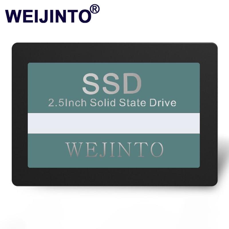 WEIJINTO SSD 120GB 240GB 60GB 128GB 256GB 512GB 480GB 960GB 360GB 2.5 inch 32GB 16GB 8GB internal Solid State Desktop Laptop
