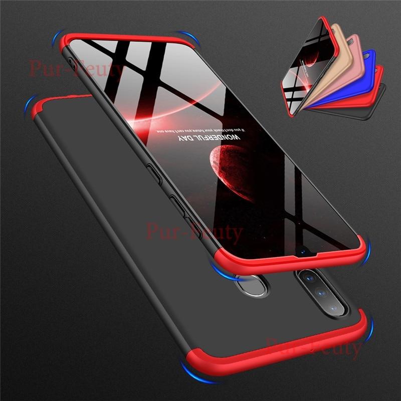 Carcasa completa 360 para Samsung Galaxy Note 10 Plus, A80, A90, 70, A60, A50, A40 S, A30, A20, A10, M10, M20, M30, M40, delgada y rígida