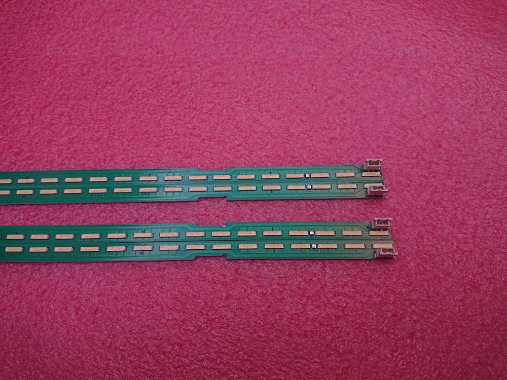 Set = 25 50pcs tira retroiluminação LED para LG 43LF6350 43LF5700 43UF6750 43UF6800 43 V15 ART3 FHD R L 6922L-0145A 6916L2247A 6916L2246A