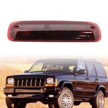 LED tylne wysoko montowane trzecie światło hamowania czerwone dla 97-01 Jeep Cherokee XJ 2.5L/4.0L światło tylne światła hamowania
