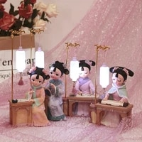 creative gift ornament palace style girl im gege retro doll birthday gift home decor resin charms