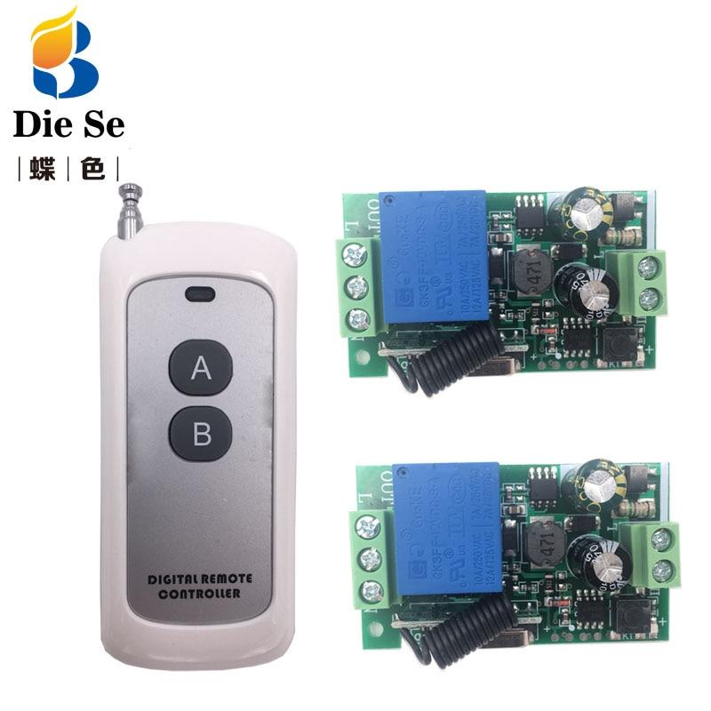 433 МГц беспроводной универсальный пульт дистанционного управления AC 220 В 1CH RF