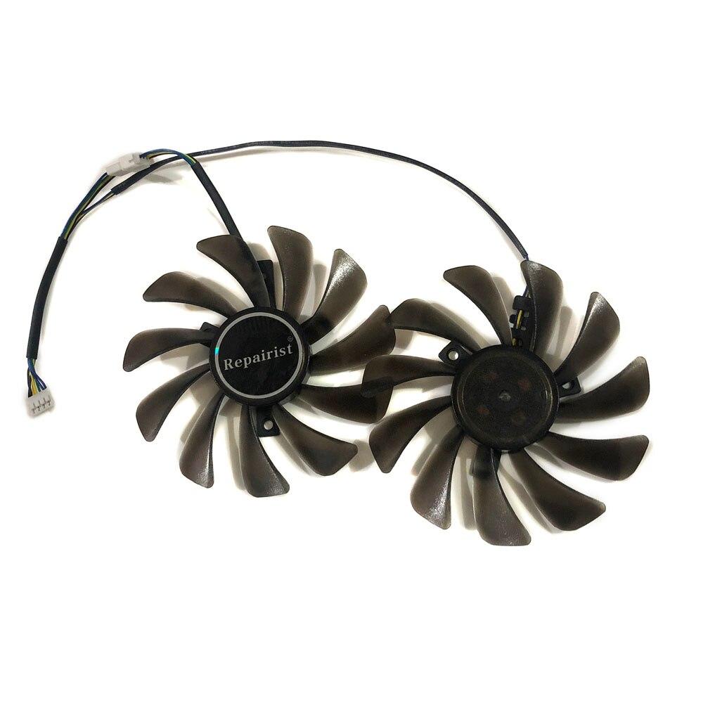 1 комплект 95 мм PLD10010S12HH/FDC10U12S9-C охлаждающий вентилятор GPU для Gigabyte RTX2070 GTX1660Ti RTX2060 GTX 1650 RTX 2060 2070 охлаждение карт